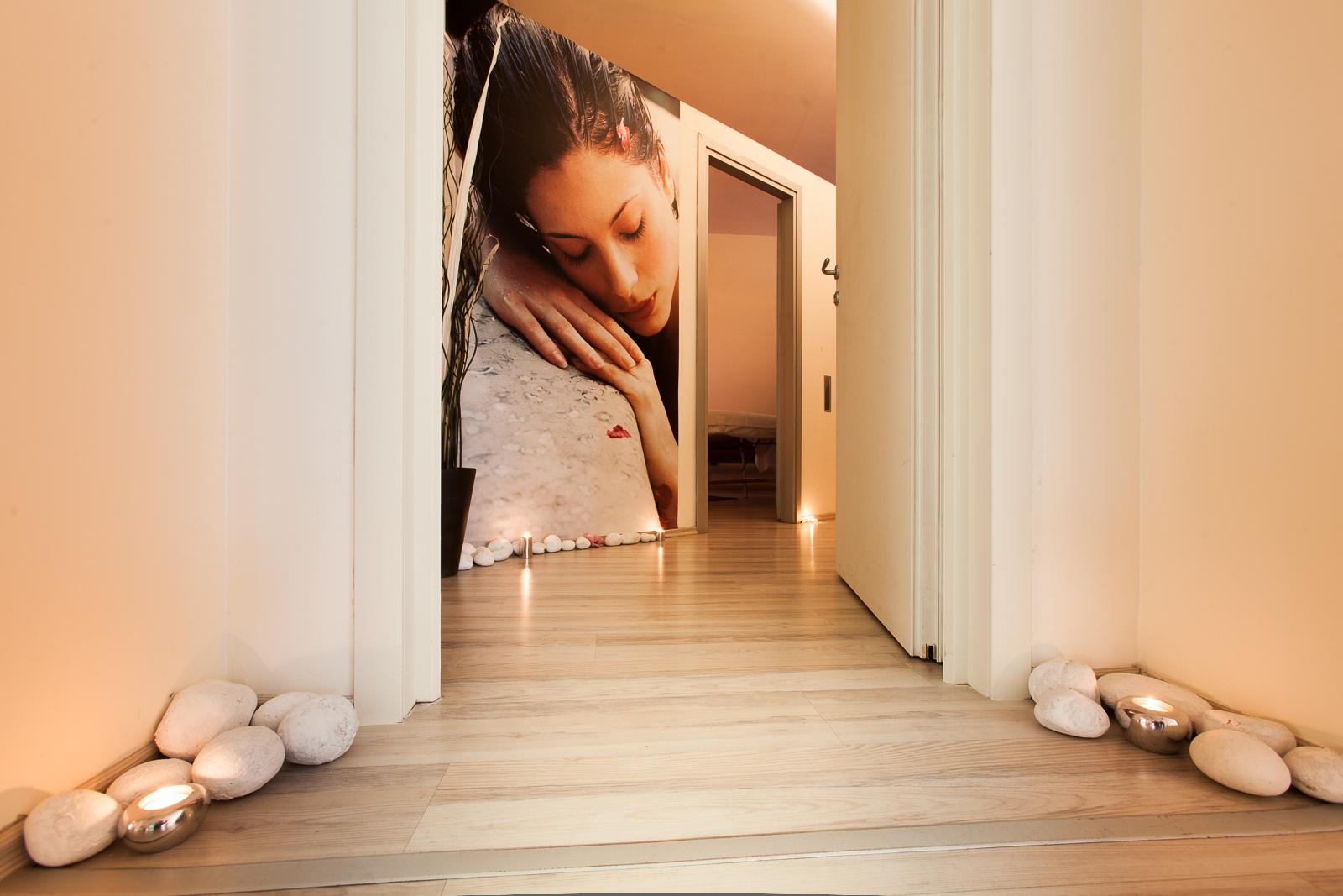 Fotografia di interni di Spa