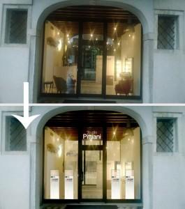 progetti per vetrine commerciali per parrucchieri