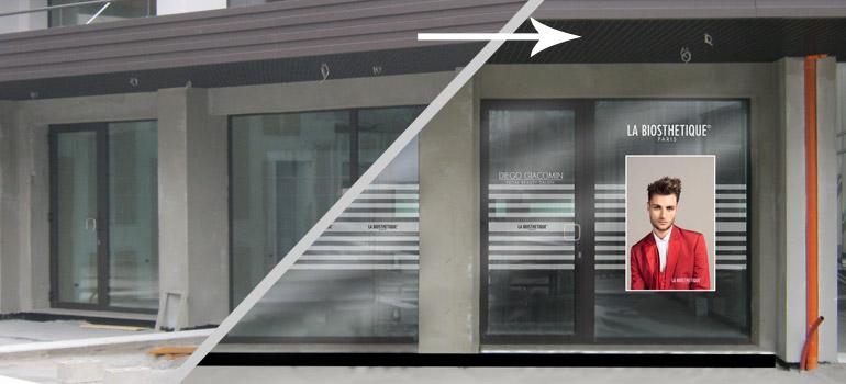 progetti per vetrine fotorealistici