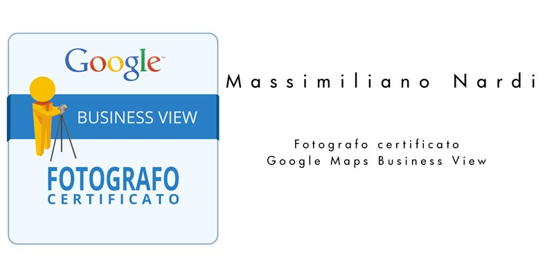 Fotografo certificato Google Maps Business View Verona